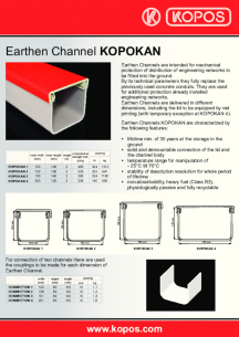 Earthen Channel - KOPOKAN