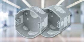 KP 68/D_KA, KPR 68/D_KA електромонтажні приладові коробки під штукатурку