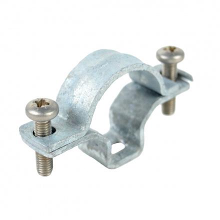 5220 ZN F - příchytka OMEGA pro ocelové trubky EN a ČSN