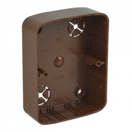 LK 80X28 2ZT I2 - krabice přístrojová (imitace)