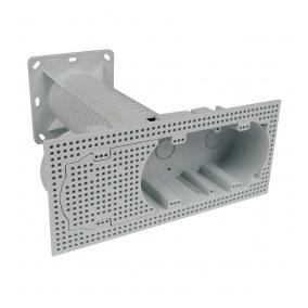 KEZ-3 KB - krabice elektroinstalační vícenásobná do zateplení
