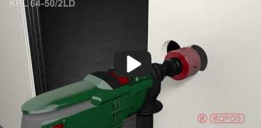 Вбудована мініатюра для Відео-інструкція по інсталяції електромонтажних коробок для пустотілих стін KPL 64-50/2LD