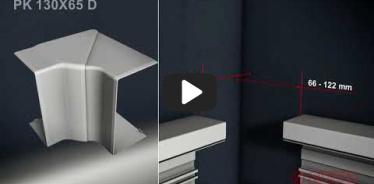 Вбудована мініатюра для Відео Інструкція по інсталяції парапетного каналу PK 130X65 D