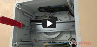 Вбудована мініатюра for Відео Інструкція по інсталяції універсальної коробки KUZ-VO з відкритою кришкою