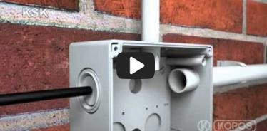 Вбудована мініатюра for Відео Інструкція по інсталяції захистної системи KSK IP 66