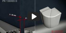 Вбудована мініатюра for Відео Інструкція по інсталяції парапетного каналу PK 130X65 D