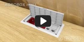 Вбудована мініатюра для Installation instruction multipurpose wiring box KOPOBOX mini L