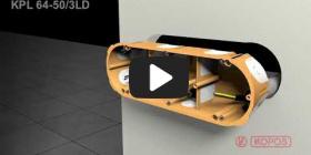 Вбудована мініатюра for Відео-інструкція по інсталяції електромонтажних коробок для пустотілих стін KPL 64-50/3LD