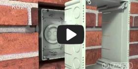 Вбудована мініатюра для Відео Інструкція по інсталяції універсальної коробки KUZ-V з кришкою