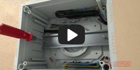 Вбудована мініатюра для Відео Інструкція по інсталяції універсальної коробки KUZ-VO з відкритою кришкою
