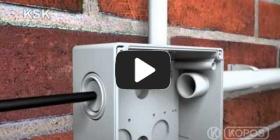 Вбудована мініатюра для Відео Інструкція по інсталяції захистної системи KSK IP 66